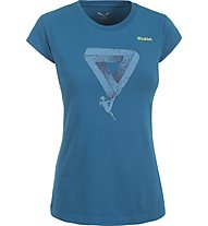 Salewa Realization - T-shirt arrampicata - donna, Reef