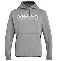 Salewa Reflection 2 Dry Hoody - Kapuzenpullover - Herren, Grey/White/Black
