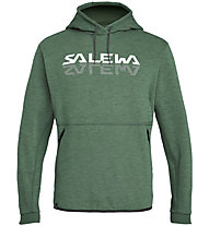Salewa Reflection 2 Dry Hoody - Kapuzenpullover - Herren, Dark Green/White/Black