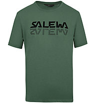 Salewa Reflection Dri-Rel M Tee - T-Shirt - Herren, Dark Green