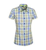 Salewa Renon 2.0 DRY - camicia a maniche corte trekking - donna, Green/Light Blue
