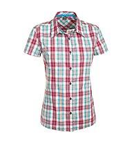 Salewa Renon 2.0 DRY - camicia a maniche corte trekking - donna, Pink/Light Blue