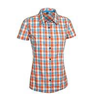 Salewa Renon 2.0 DRY - camicia a maniche corte trekking - donna, Orange/Light Blue