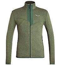 Salewa Rocca 2 PL - giacca in pile - uomo, Green
