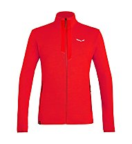 Salewa Rocca 2 PL - giacca in pile - uomo, Red