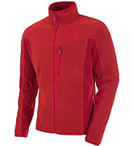 Salewa Rocca Pl - giacca in pile trekking - uomo, Red