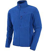 Salewa Rocca Pl - giacca in pile - uomo, Blue