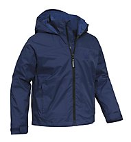 Salewa Rock'n Climb Raintec Regenjacke Kinder, Deep Blue