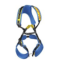 Salewa Rookie FB - Klettergurt, Blue/Yellow