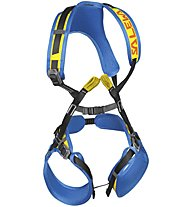 Salewa Rookie FB - imbrago completo - bambino, Blue/Yellow