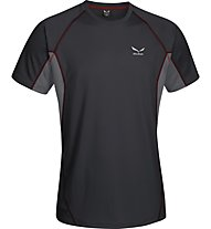 Salewa Rotek 2.0 Dry'ton T-Shirt da montagna, Black Out