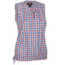 Salewa Saint Veran Dry'ton - Camicia senza maniche trekking - donna, Red/Light Blue