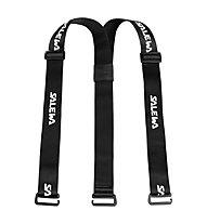 Salewa Suspenders - bretelle, Black/White