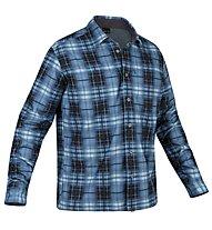 Salewa Salvin PL M L/S Shirt, Dark Blue