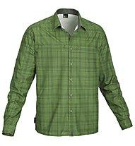 Salewa Salvin PL M L/S Shirt, Dark Green
