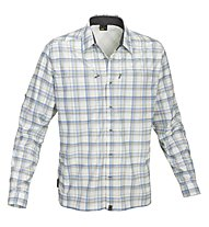Salewa Salvin PL M L/S Shirt, Grey/Blue