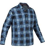 Salewa Salvin PL M - camicia a maniche lunghe trekking - uomo, Dark Blue