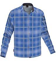 Salewa Salvin PL M L/S Shirt, Light Blue