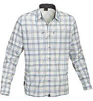 Salewa Salvin PL M - camicia a maniche lunghe trekking - uomo, Grey/Blue