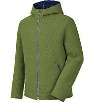 Salewa Sarner 2L Wool - Strickjacke mit Kapuze - Herren, Green