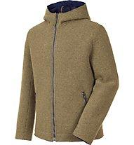 Salewa Sarner 2L Wool - Strickjacke mit Kapuze - Herren, Light Brown