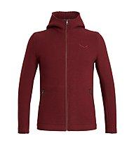 Salewa Sarner 2L - giacca con cappuccio - uomo, Dark Red