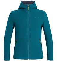 Salewa Sarner 2L - giacca con cappuccio - uomo, Blue/Green