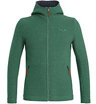Salewa Sarner 2L - giacca con cappuccio - uomo, Green/Red