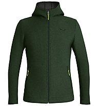 Salewa Sarner 2L - giacca con cappuccio - uomo, Dark Green