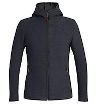 Salewa Sarner 2L - giacca con cappuccio - uomo, Dark Blue/Orange