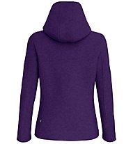 Salewa Sarner 2L - giacca con cappuccio - donna, Violet/Light Blue