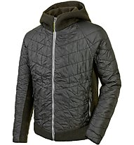 Salewa Sarner Tirol Wool Jacket Herren Winterjacke mit Kapuze, Green
