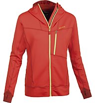 Salewa Sassongher - giacca in pile trekking - donna, Red