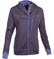 Salewa Sassongher giacca pile donna, Loganberry