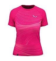 Salewa W Seceda S/S - T-shirt - Damen, Pink