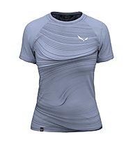 Salewa W Seceda S/S - T-shirt - Damen, Grey