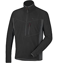 Salewa Selva Polarlite - felpa in pile - uomo, Black