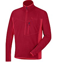 Salewa Selva Polarlite - Felpa in pile alpinismo - uomo, Red