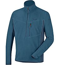 Salewa Selva Pl M Hz Herren Fleecepullover, Light Blue