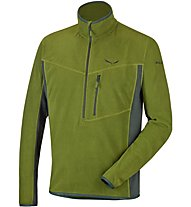 Salewa Selva Polarlite - felpa in pile - uomo, Green
