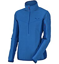 Salewa Selva PL - felpa in pile - donna, Blue