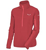 Salewa Selva PL - felpa in pile - donna, Red