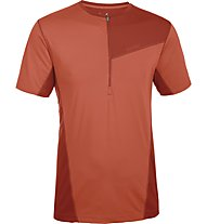 Salewa Seniam Dry'ton T-Shirt, Terracotta