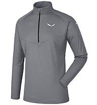 Salewa Sennes Dry - Pullover mit Reißverschluss - Herren, Grey