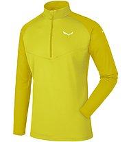 Salewa Sennes Dry - Pullover mit Reißverschluss - Herren, Yellow