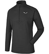 Salewa Sennes Dry - pullover trekking - uomo, Black