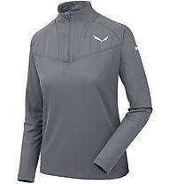Salewa Sennes Dry - Pullover mit Reißverschluss - Damen, Grey