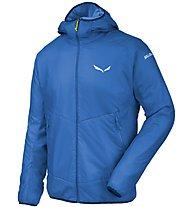 Salewa Sesvenna 2 Ptc - giacca con cappuccio sci alpinismo - uomo, Light Blue