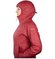 Salewa Sesvenna 2 Ptc - Isolationsjacke mit Kapuze - Damen, Dark Red