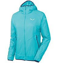 Salewa Sesvenna 2 Ptc - Isolationsjacke mit Kapuze - Damen, Light Blue
